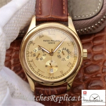 Swiss Patek Philippe Complications Annual Calendar Replica 5035J Roman Markers 40MM