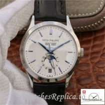 Swiss Patek Philippe Complications Annual Calendar Replica 5396G-011 Black Strap 38MM