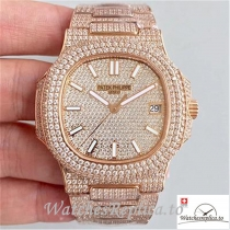 Swiss Patek Philippe Nautilus Jumbo Replica 5719/10G-010 Diamonds Bezel 40MM