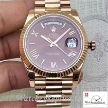 Swiss Rolex Day Date Replica 228235 Roman Markers 40MM