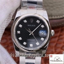 Swiss Rolex Datejust Replica 116200 Stainless steel strap 36MM