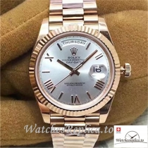 Swiss Rolex Day Date Replica 228235 001 Roman Markers 40MM