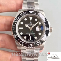 Swiss Rolex GMT-Master II Replica 116710LN Black Bezel 40MM