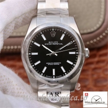 Swiss Rolex Oyster Perpetual Replica 114300 Silver Strap 39MM