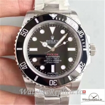 Swiss Rolex Submariner Replica 114060 001 Silver Strap 40MM