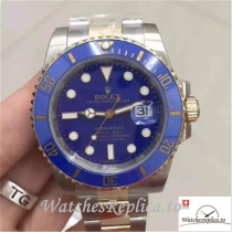 Swiss Rolex Submariner Date Replica 116613LB Blue Bezel 40MM