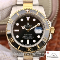 Swiss Rolex Submariner Date Replica 116613LN 002 Black Bezel 40MM
