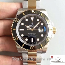 Swiss Rolex Submariner Date Replica 116613LN Black Bezel 40MM