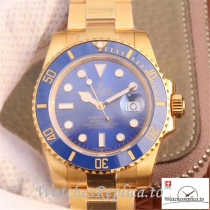 Swiss Rolex Submariner Date Replica 116618LB Gold Strap 40MM
