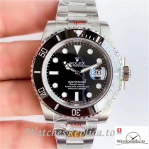 Swiss Rolex Submariner Replica 116610LN Silver Strap 40MM