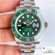 Swiss Rolex Submariner Replica 116610LV Green Bezel 40MM