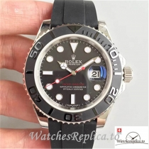 Swiss Rolex Yacht Master Replica 116655 001 Black Bezel 40MM