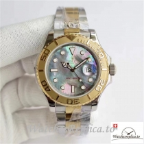 Swiss Rolex Yacht-Master Replica 116622 006 Yellow Gold Bezel 40MM