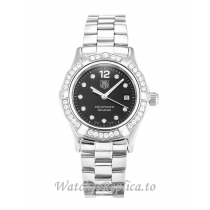 Tag Heuer Aquaracer Black Diamond Dial WAF141D.BA0813 27 MM