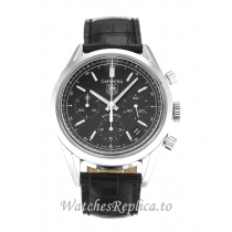 Tag Heuer Carrera Black Dial CV2111.FC6180 37MM