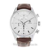 Tag Heuer Carrera Silver Dial CAR2111.FC6291 41 MM