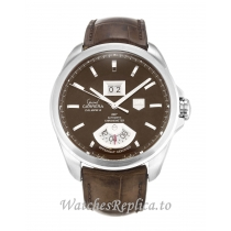 Tag Heuer Grand Carrera Brown Dial WAV5113.FC6225 42 MM