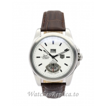 Tag Heuer Grand Carrera Silver Dial WAV5112.FC6231 43 MM