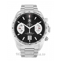 Tag Heuer Grand Carrera Black Dial CAV511A.BA0902 43 MM