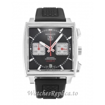 Tag Heuer Monaco Black Dial CAW2114.FT6021-39 MM