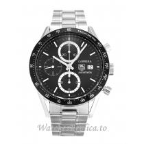 Tag Heuer Carrera Black Dial CV2010.BA0786-41 MM