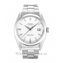 Rolex Oyster Perpetual Date Silver Dial 1500-36 MM