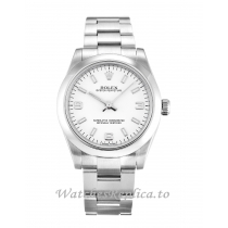 Rolex Lady Oyster Perpetual White Dial 177200-31 MM