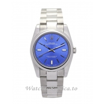 Rolex Lady Oyster Perpetual Blue Dial-31 MM