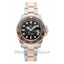 Rolex Replica GMT-Master II Rootbeer 40mm 126711CHNR