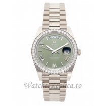 Rolex Replica Day-Date 40mm Grey Dial 228349RBR