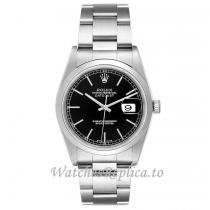 Replica Rolex Datejust Black Dial 16200 36MM