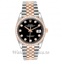 Replica Rolex Datejust Diamond Dial 126281 36MM