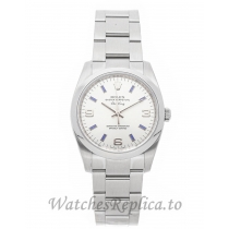 Rolex Replica Air King Ladies Stainless Steel 34mm 114200