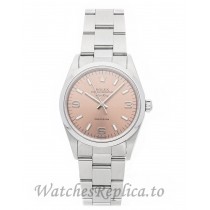 Rolex Replica Air King Ladies Pink Dial 34mm 14000