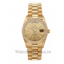 Rolex Replica Day-Date Gold Gold Dial 36mm 18238