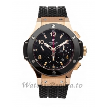 Hublot Replica Big Bang Gold Chronograph 44mm 301.PB.131.RX