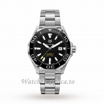TAG Heuer Replica Aquaracer Calibre 5 43mm Mens Watch WAY201A.BA0927