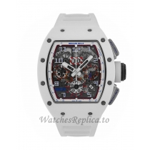 Richard Mille Replica Asia Limited Edition White Ceramic NTPT 50MM Watch M01107028