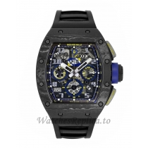 Richard Mille Replica Felipe Massa 10th Anniversary Titanium 50MM Watch M01107024