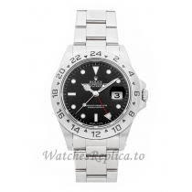 Rolex Replica Explorer II Black Dial 40mm 16570