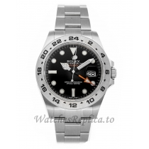 Rolex Replica Explorer II Black Dial 42mm 216570