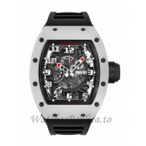 Richard Mille Replica RM030 White Rush ATZ Ceramic Automatic 50MM Watch RM 030 384410