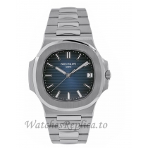 Patek Philippe Replica Nautilus Stainless Steel Blue Dial 40MM Watch 57111A010