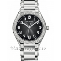Patek Philippe Replica Twenty 4 Steel Grey Dial Automatic 36MM Watch 73001200A010