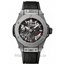 Hublot Replica Big Bang Meca 10 Microblasted Titanium 45MM Watch 414.NI.1123.RX