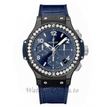 Hublot Replica Big Bang Ceramic Diamond Chronograph 41MM 341.CM.7170.LR.1204