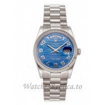 Rolex Replica Day-Date Blue Dial 36mm 118239