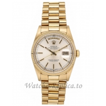 Rolex Replica Day-Date Gold Case 36mm 18238