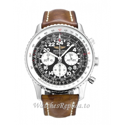 Breitling Cosmonaute Black Dial A22322 42 MM