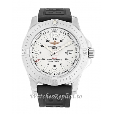 Breitling Colt Quartz White Dial A74388 44 MM